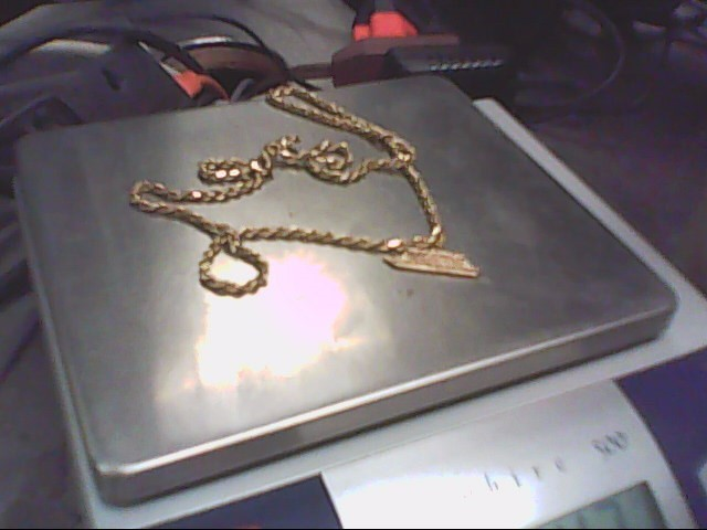 "20"" Gold Chain 14K Yellow Gold 14.3g"