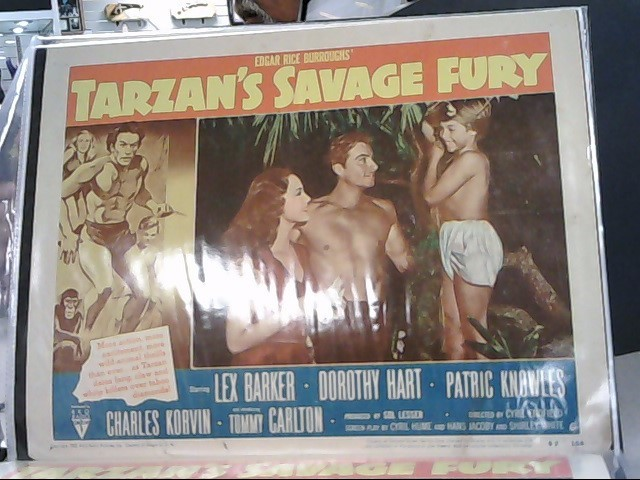 MISCELLANEOUS VINTAGE HOLLYWOOD LOBBY CARDS