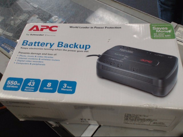 APC Battery/Charger BE550G