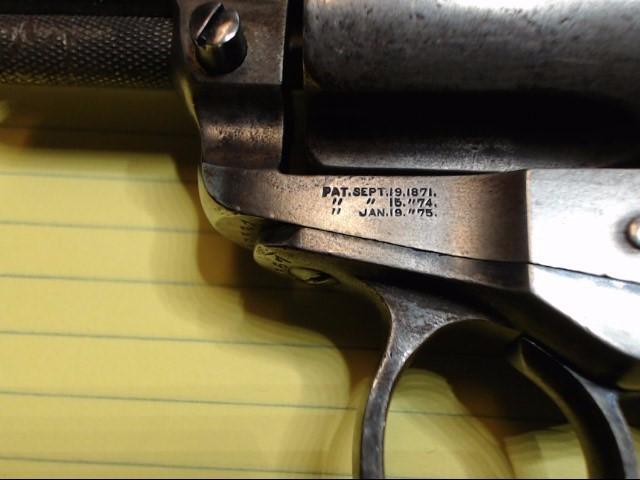 COLT Revolver 1877 THUNDERER