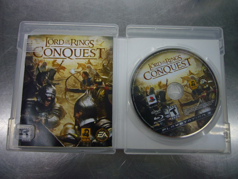 SONY Sony PlayStation 3 Game THE LORD OF THE RINGS CONQUEST