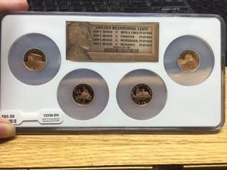 UNITED STATES Mint Set 2009 S LINCOLN BICENTENNIAL CENTS
