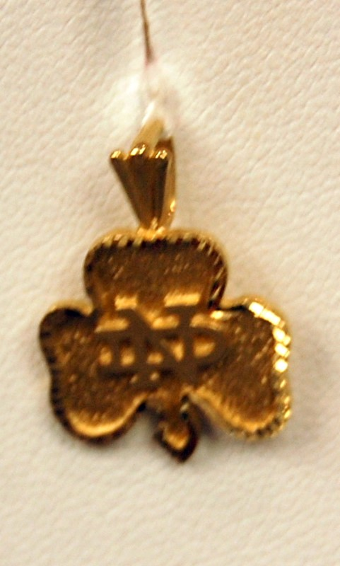 Gold Pendant 14K Yellow Gold 2g