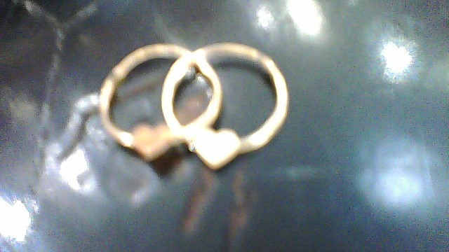 Gold Earrings 10K Yellow Gold 0.21g