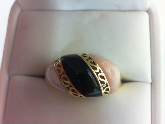 Lady's Gold Ring 14K Yellow Gold 5.4g Size:7