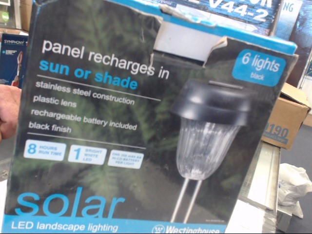 WESTINGHOUSE Miscellaneous Tool OUTDOOR SOLAR LIGHTING