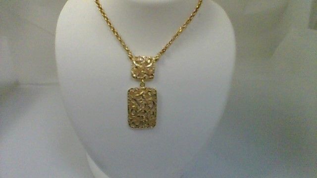 Gold Fashion Chain 14K Yellow Gold 5.3g