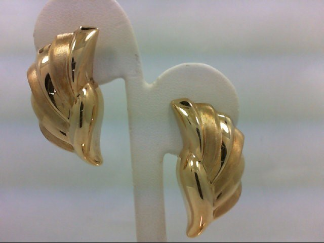 Gold Earrings 14K Yellow Gold 7.3g
