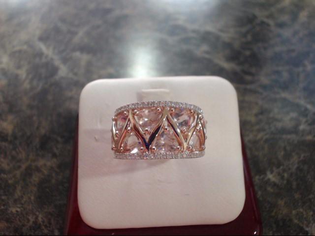 Lady's Gold Ring 14K Rose Gold 6g