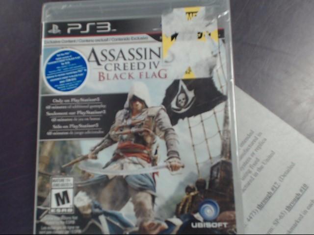 SONY  PS3 ASSASSINS CREED IV BLACK FLAG