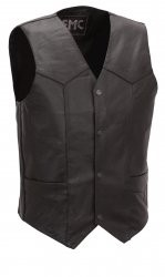FIRST MANUFACTURING CO FMM601BM-42; SIZE 42 BASIC 4 SNAP VEST