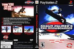 SONY Sony PlayStation 2 SHAUN PALMER PRO SNOWBOARDER