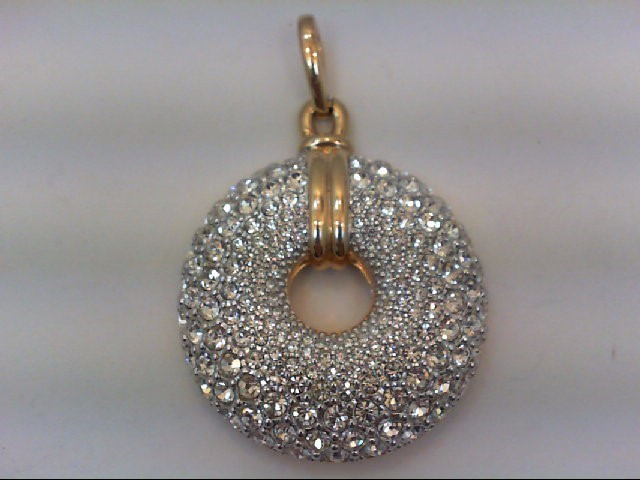 Gold Pendant Yellow Gold Electroplate 51.2g