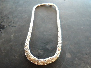 Tiffany & Co. retired Double Russian Weave or Braid vintage woven necklace