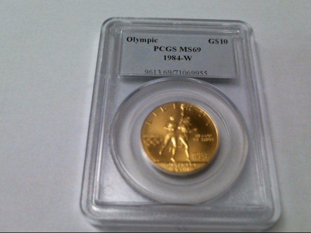 UNITED STATES Gold Coin 1984 OLYMPIC $10 GOLD