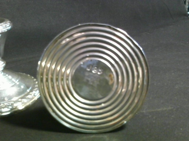 AMSON WIEGHTED STERLING CANDLESTICK HOLDERS