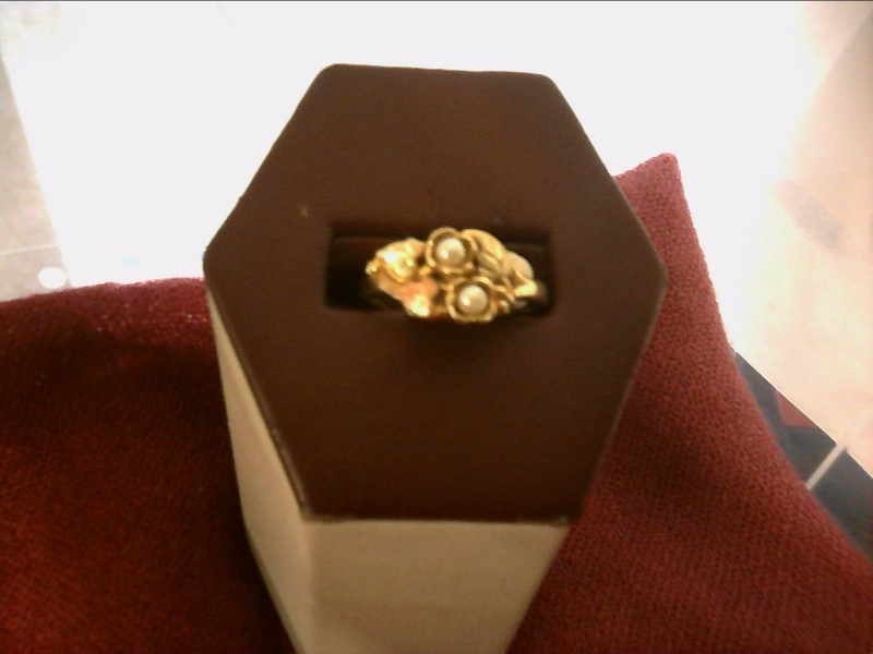 Lady's Gold Ring 10K Yellow Gold 2.3dwt Size:8.8