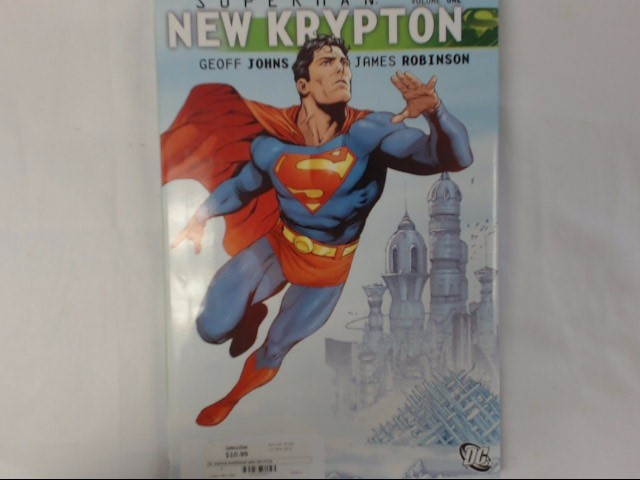 DC COMICS-SUPERMAN VOLUME ONE NEW KRYPTON-HARDBACK-PUBLISHED 2009