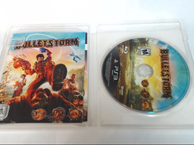 BULLET STORM LIMITED EDITION PS3 GAME