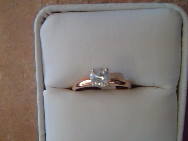 DIAMOND RING JEWELRY , 14KT, 2.1