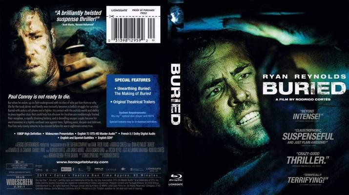 BLU-RAY MOVIE Blu-Ray BURIED