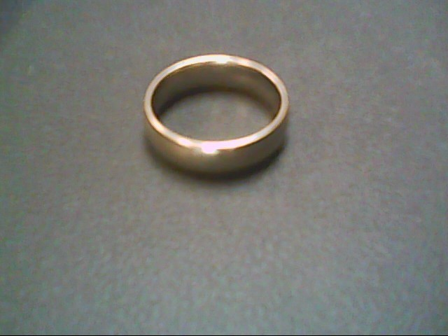 Gent's Gold Wedding Band 14K White Gold 7.3g Size:9