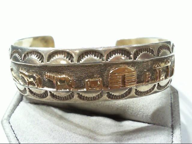 Silver Fashion Bracelet 925 Silver 28.5g