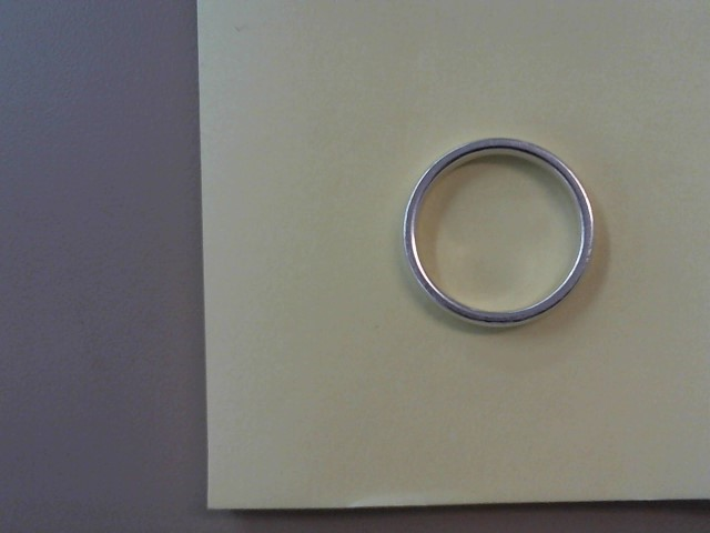 Lady's Silver Wedding Band 925 Silver 2.8dwt Size:10