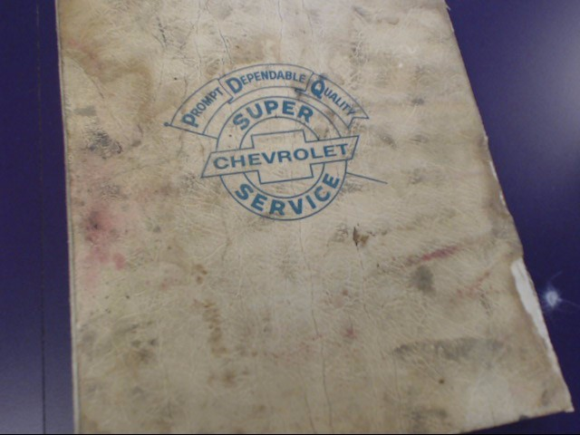 1969 CHASSIS SERVICE MANUAL FOR CHEVROLET