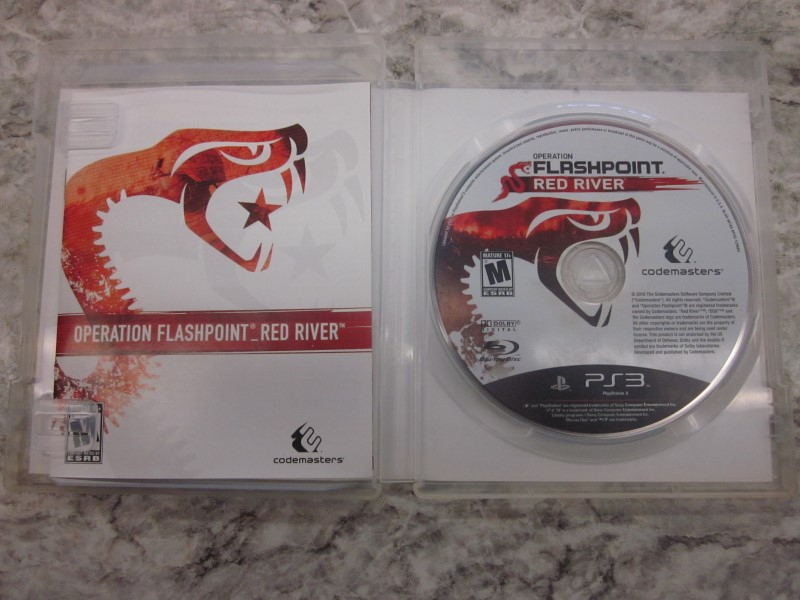 PS3 FLASHPOINT RED RIVER