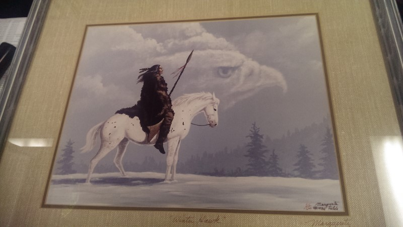 THREE MARGUERITE FIELDS PRINTS - THE GUARDIANS,WINTER HAWK,THE GREETING
