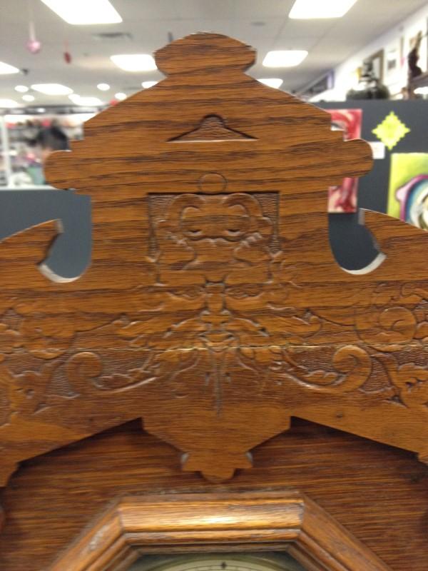 Seth Thomas Wood Vintage Clock 298