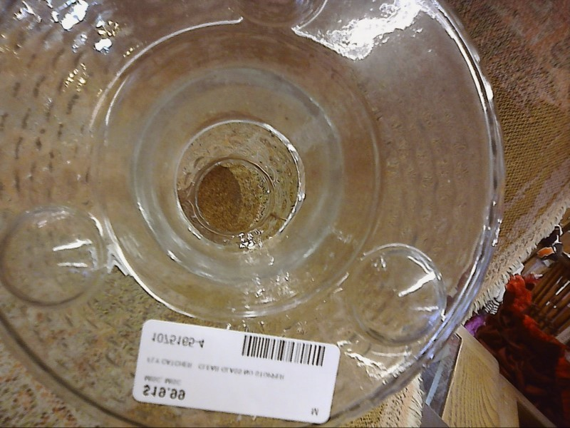 MISC HOUSEHOLD MISC USED MERCH MISC USED MERCH; FLY CATCHER   CLEAR GLASS NO STO