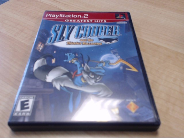 SLY COOPER SONY PS2 PLAYSTATION 2 GAME