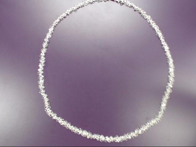 "21"" Silver Chain 925 Silver 15.5g"