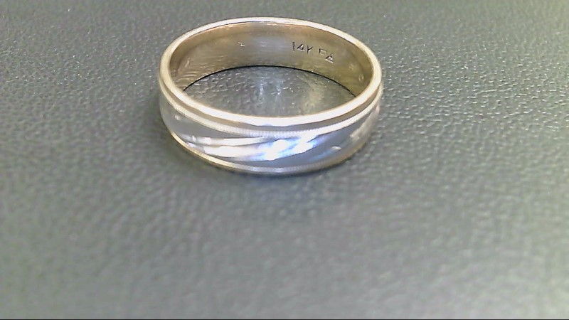 Gent's Gold Wedding Band 14K Yellow Gold 7g