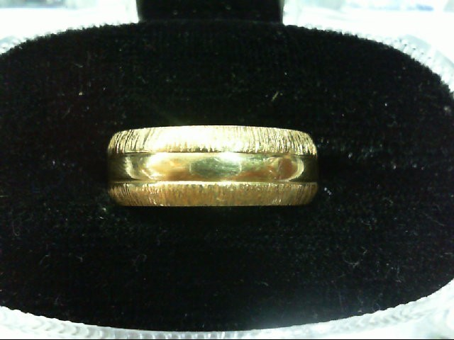 Lady's Gold Ring 14K Yellow Gold 4.9g