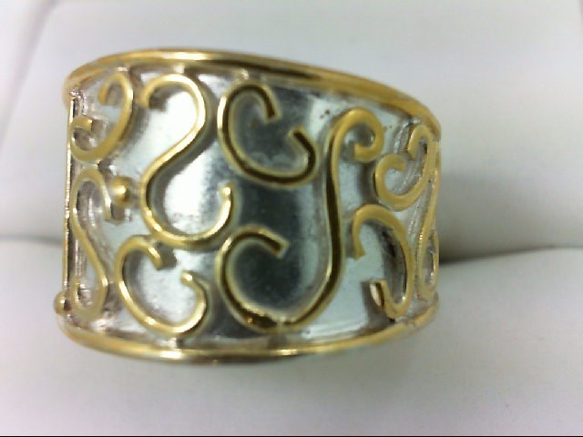Lady's Silver Ring 925 Silver 7.2g Size:6