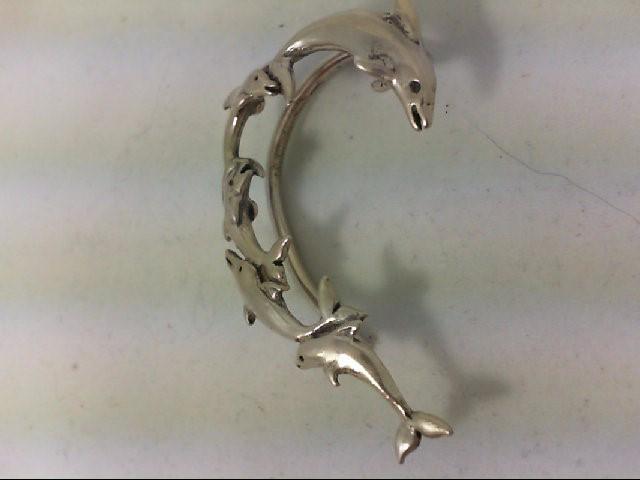 Silver Earrings 925 Silver 13.9g