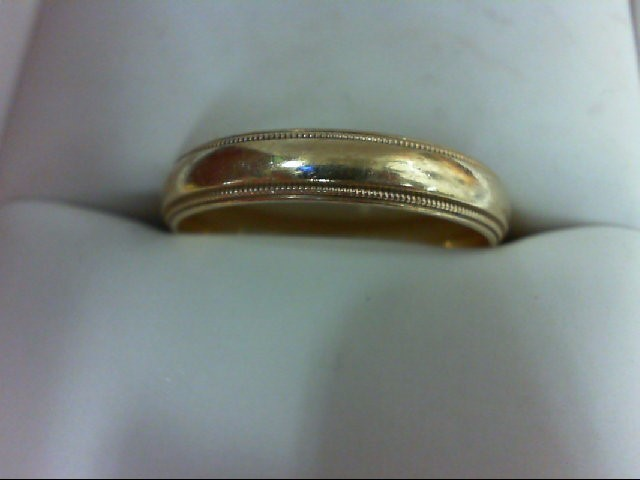 Gent's Gold Ring 10K Yellow Gold 3.7g Size:10