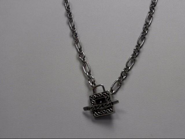 "16"" Silver Chain 925 Silver 19.3g"