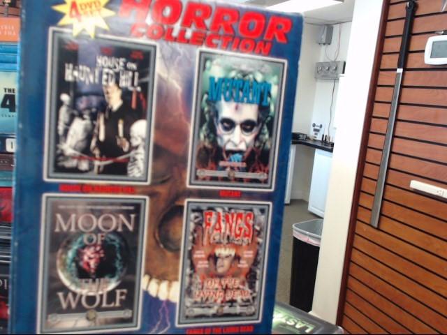 DVD BOX SET DVD HORROR COLLECTION