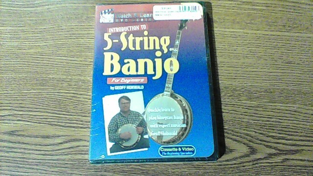 WATCH & LEARN DVD INTRO TO BANJO