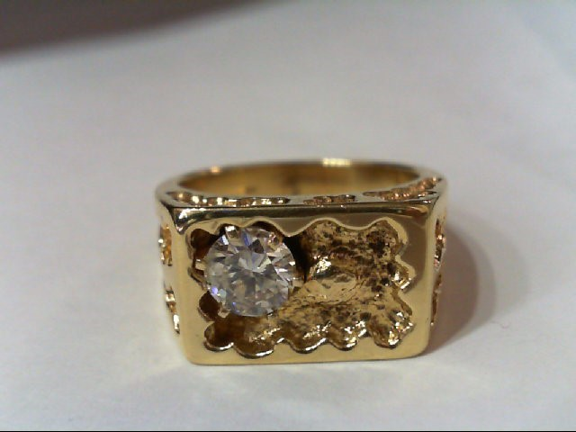 Gent's Diamond Fashion Ring 1.00 CT. 14K Yellow Gold 16.33g