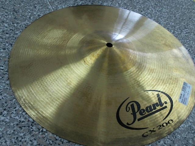 """PEARL Cymbal CX 200 16"""" CRASH CYMBAL"""