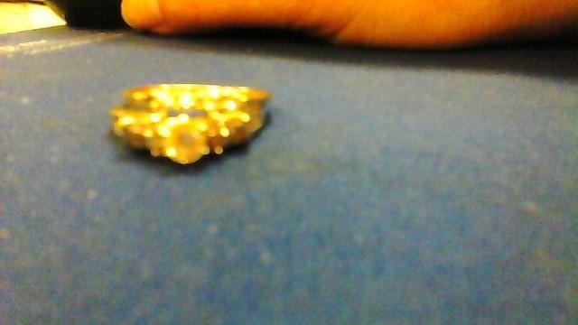 Lady's Diamond Wedding Set 22 Diamonds 1.04 Carat T.W. 14K White Gold 4.7g