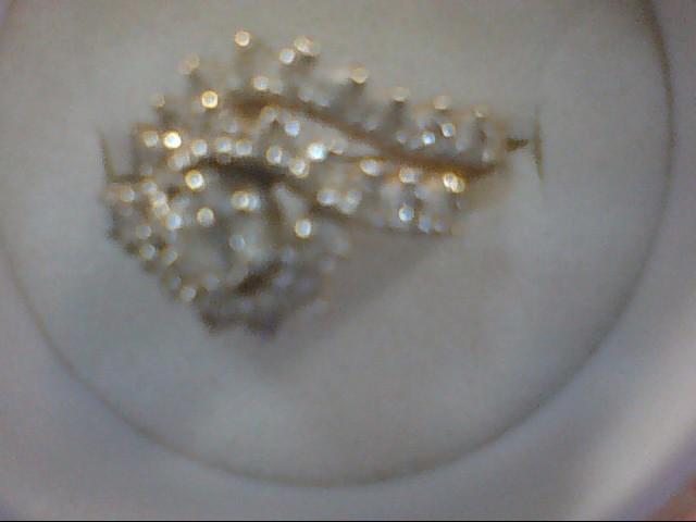 Lady's Diamond Wedding Set 28 Diamonds .37 Carat T.W. 14K Yellow Gold 6g