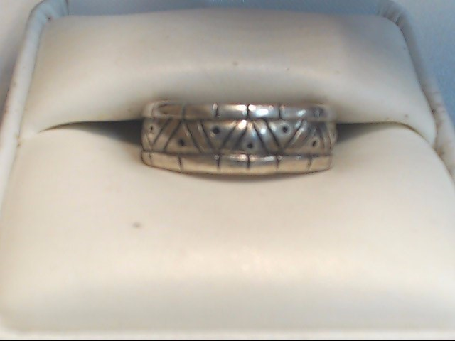 Lady's Silver Ring 925 Silver 4.4g Size:7