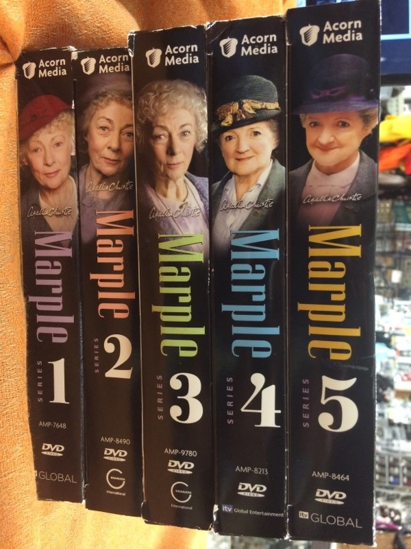 ACORN MEDIA DVD AGATHA CHRISTIE MARPLE