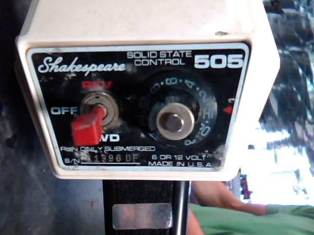 SHAKESPEARE FISHING Boat Motor 505